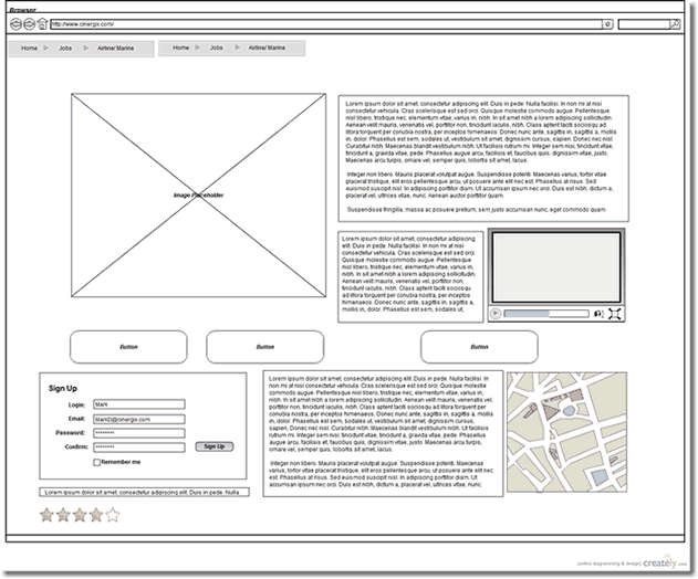 wireframes-template-border
