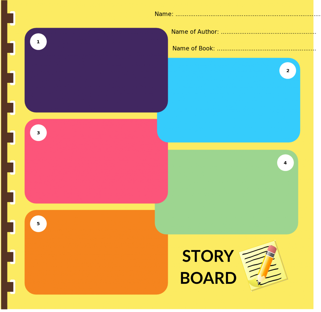 Beautiful Storyboard Examples For Students For Kids And General Usage