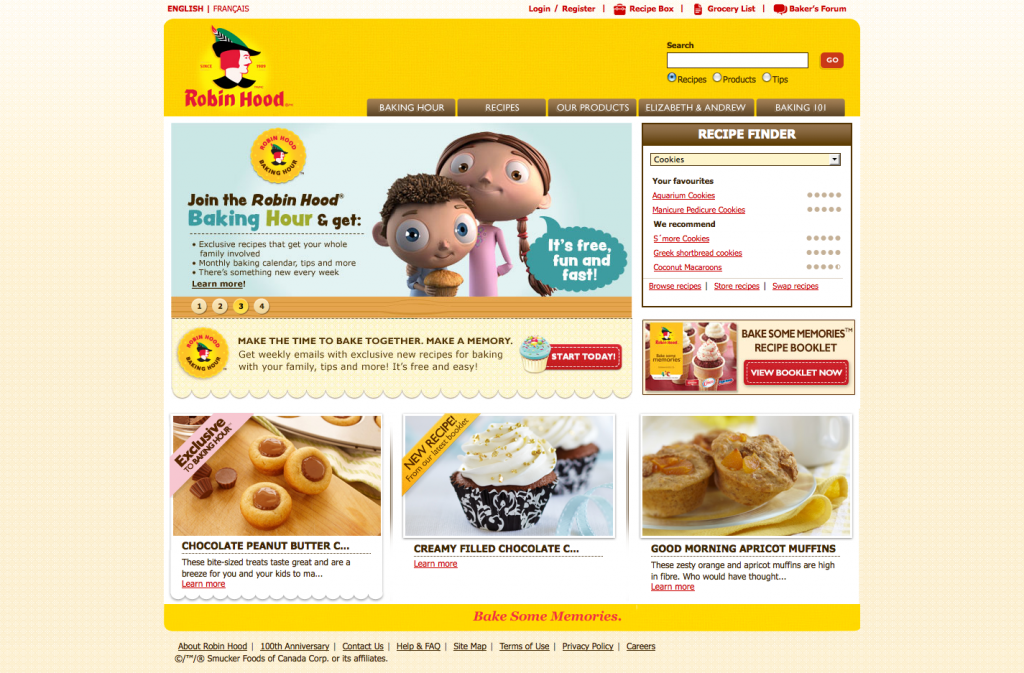 An example of behavioral marketing