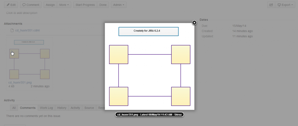 Embed diagram with ease