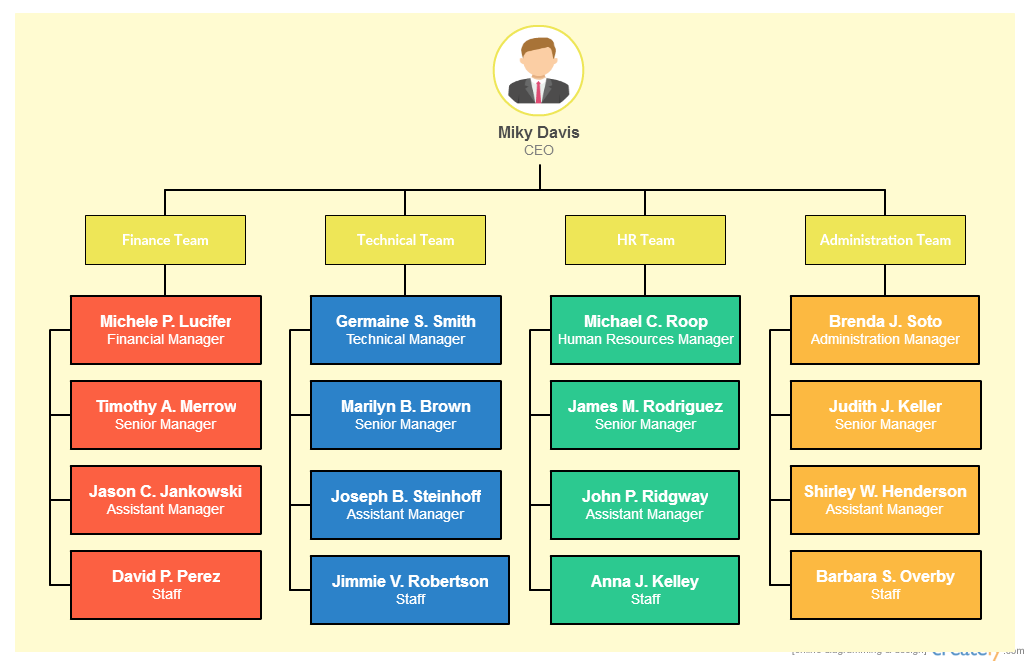types of organizational charts organization structure types for companies. Black Bedroom Furniture Sets. Home Design Ideas