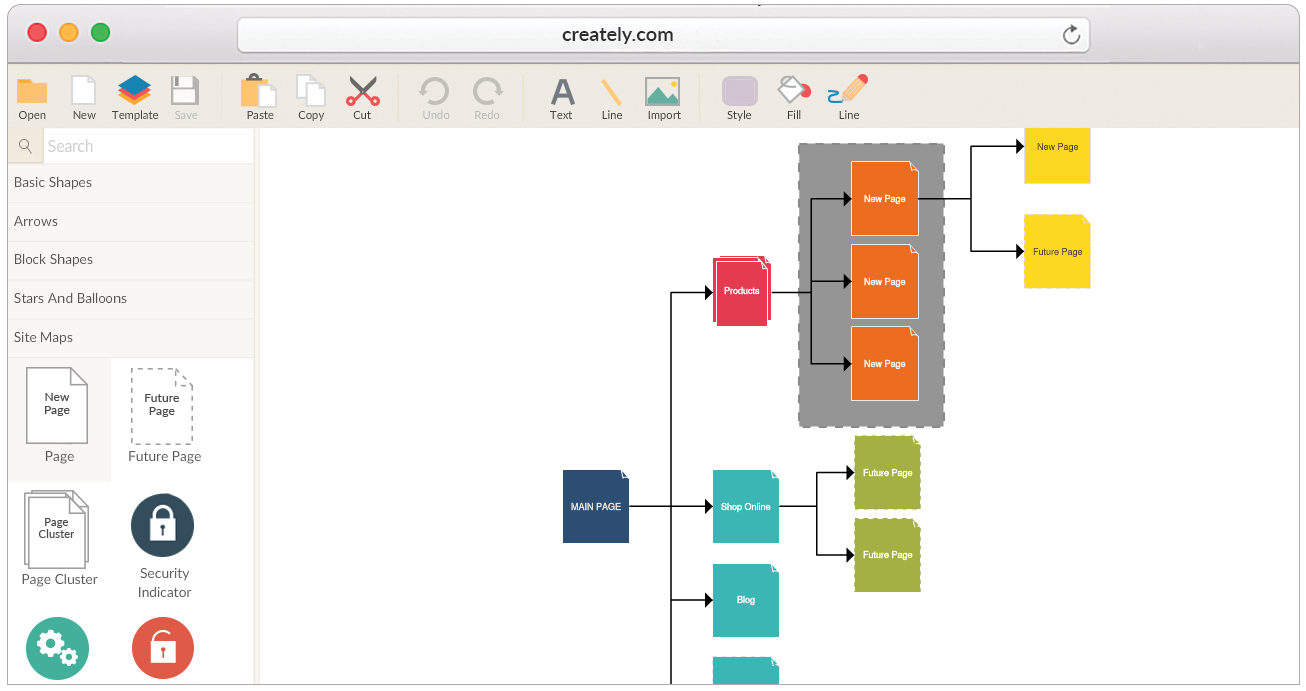 Draw Sitemaps Online and Easily Visualize Your Website Structure