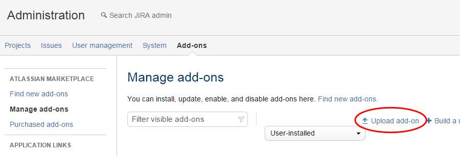 Upload Creately Plugin for JIRA