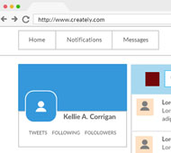 Create user interface mock-ups easily