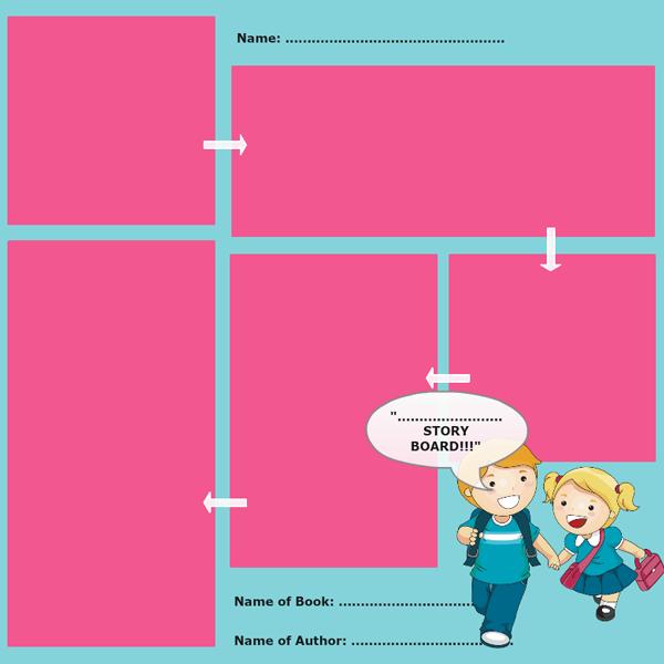 Storyboard Template 4