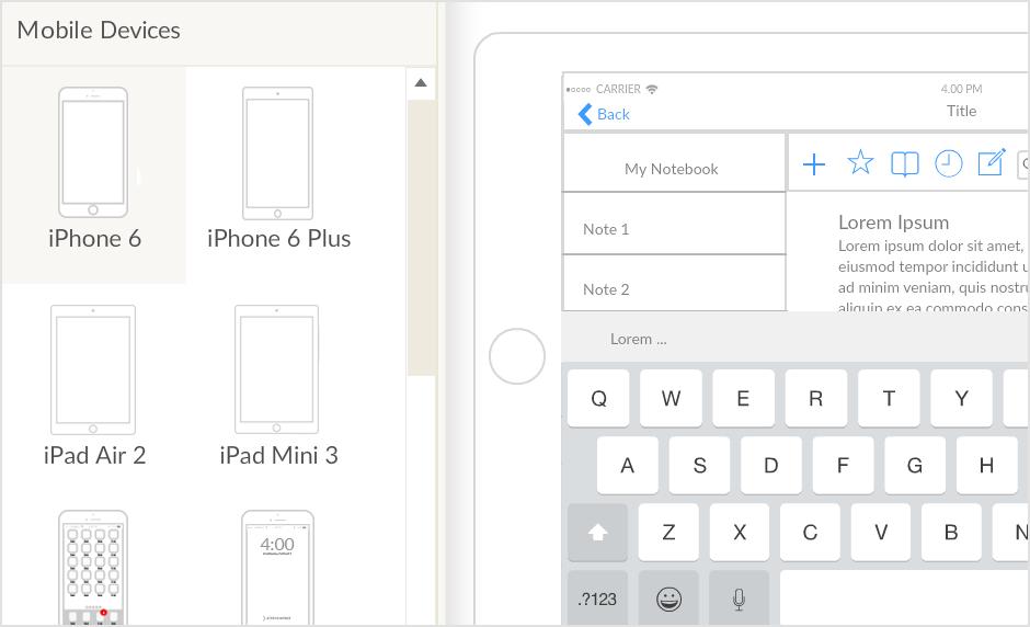 Create iPad Mockups Faster with Creately iPad Mockup Tool