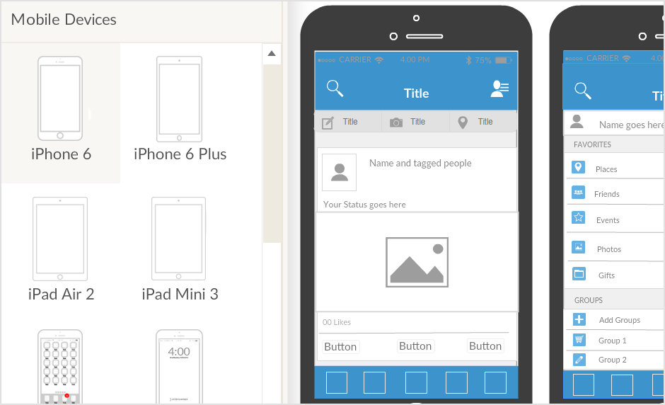 Why Creating iPhone Mockups is Faster with Creately iPhone Mockup Tool