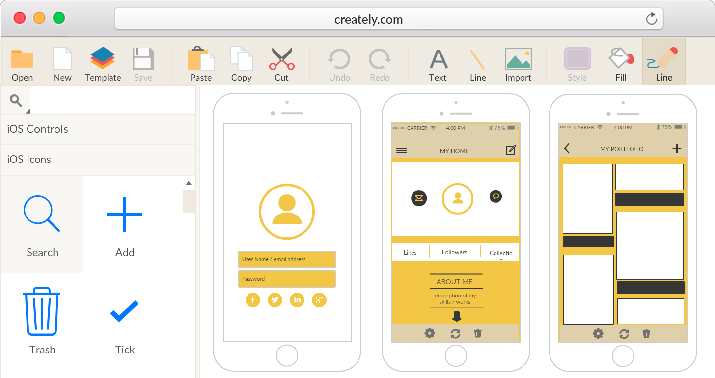iPhone Mockup Tool To create amazing iPhone applications in minutes