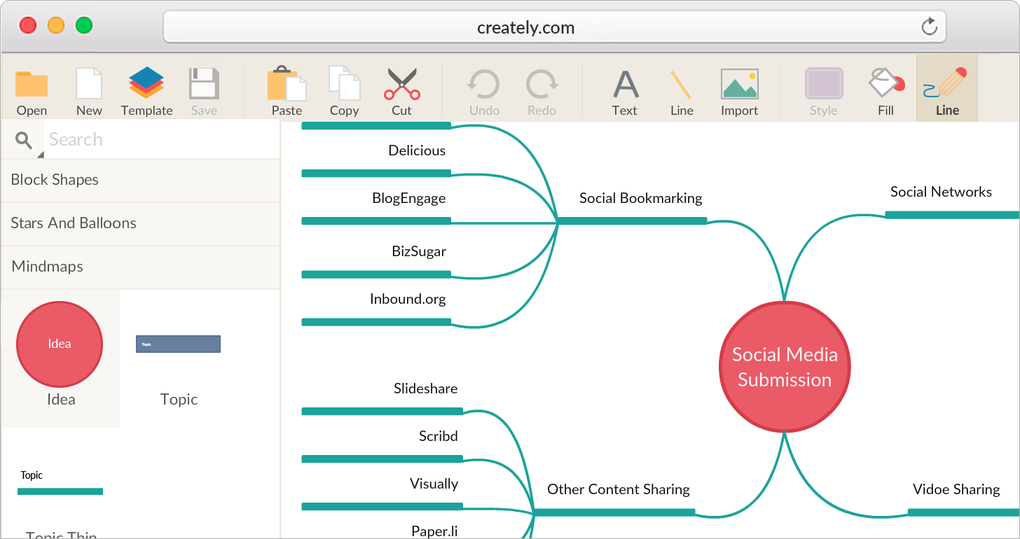 Mind Mapping to Brainstorm Online | Creately on