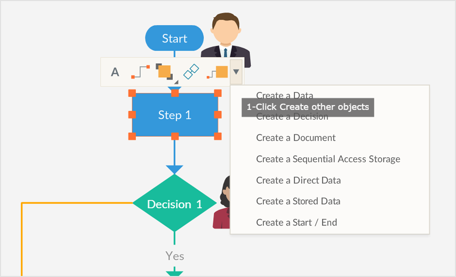 Powerful Features to Draw Process Maps Faster