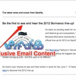 Market your startup with emails by providing exclusive content