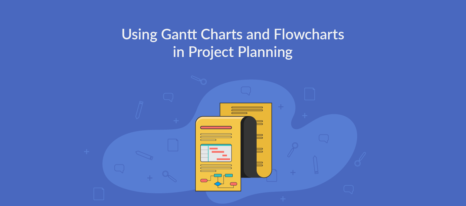Using Gantt Charts And Flowcharts In Project Planning Creately Blog