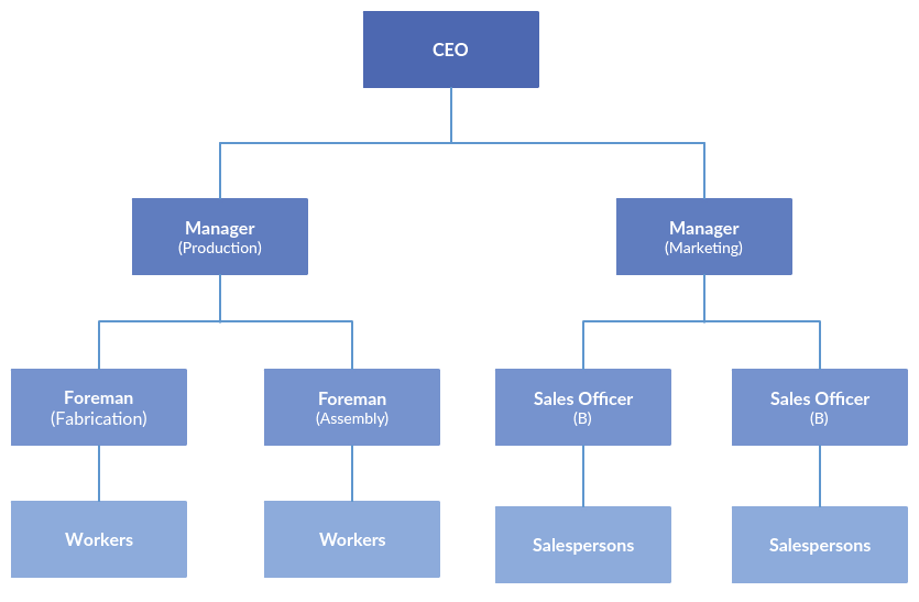 Line Organizational Structure 1 types of organizational charts organization structure types for