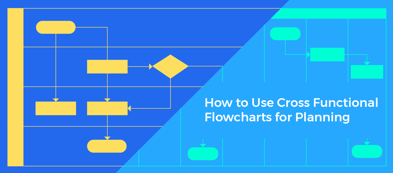 How To Use Cross Functional Flowcharts For Planning Creately Blog Process Flow Diagram With Swimlanes Template