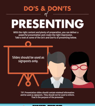 Effective Presentation Tips Infographic