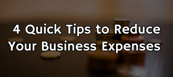 Reduce Business Expenses
