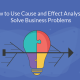 How to Use Cause and Effect Analysis to Solve Business Problems