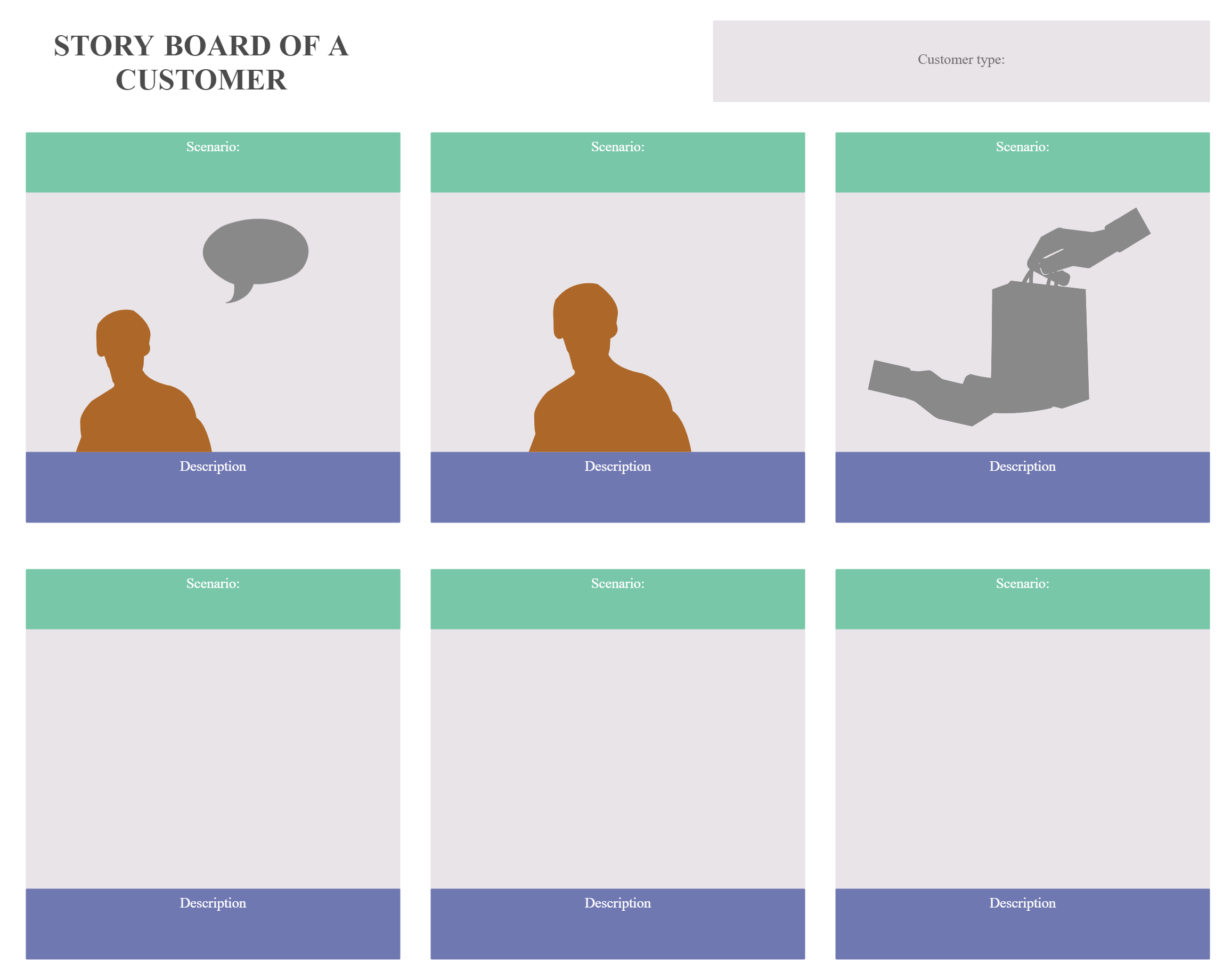 Example of a Story Board