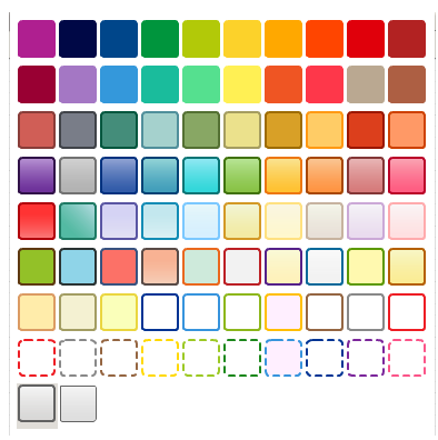 Creately Color Palette