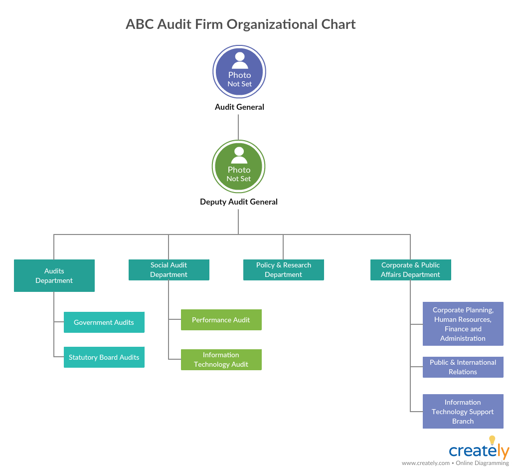 Org Chart for Company Audit - how to audit a company