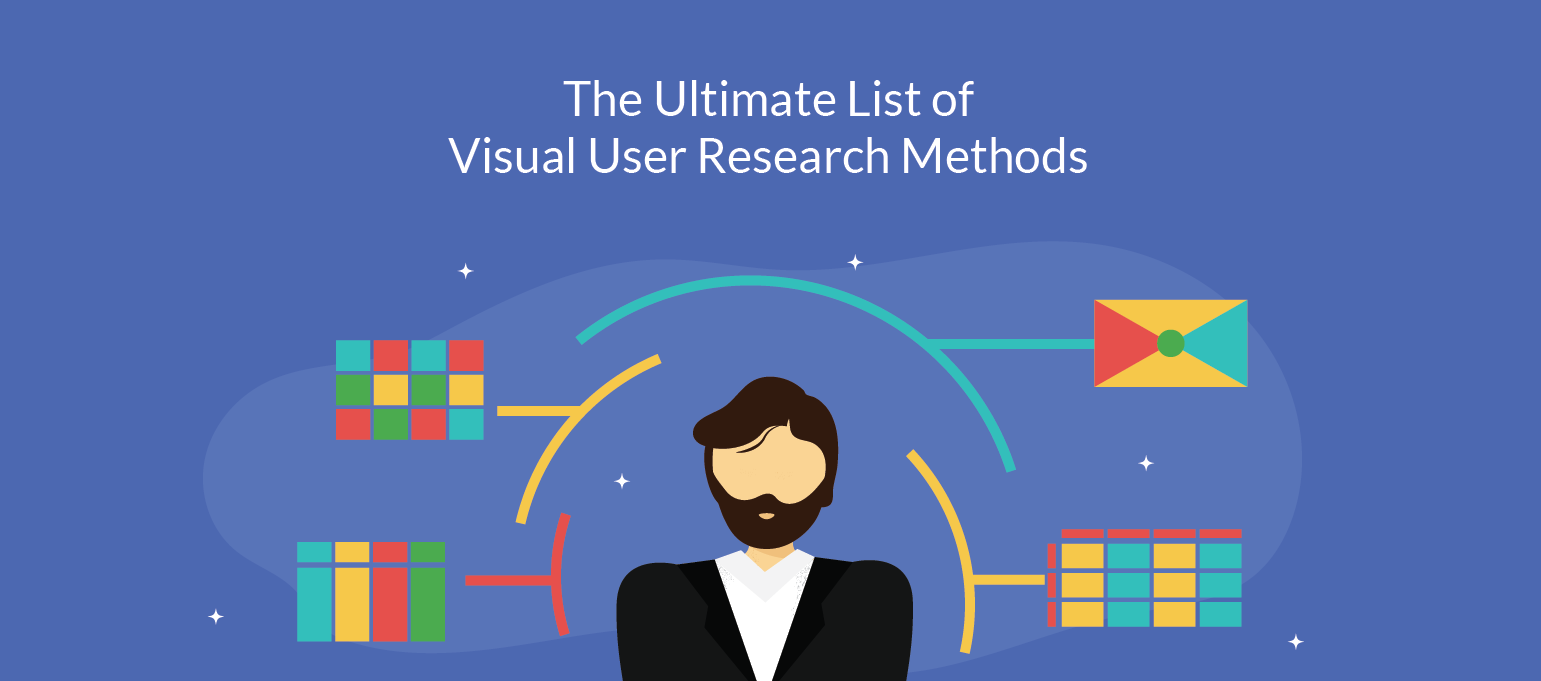 8 Simple Visual User Research Methods With Editable Templates