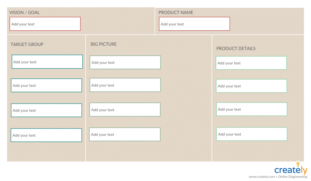 Product Canvas Template
