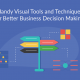 13 Handy Visual Techniques and Tools for Better Business Decision Making