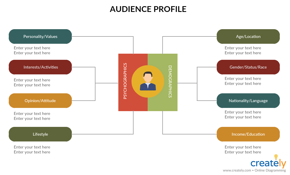 Audience Profile for Communications Plan