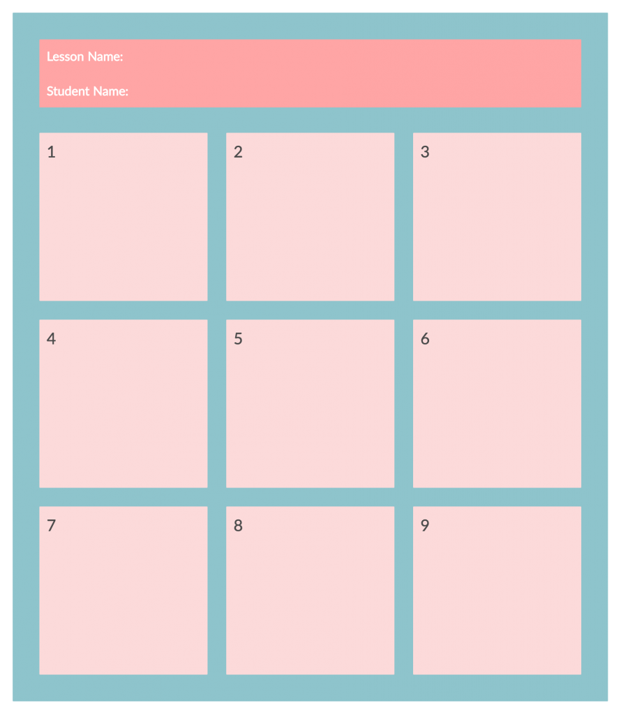 Storyboard-Template-for-Online-Teaching-Activities