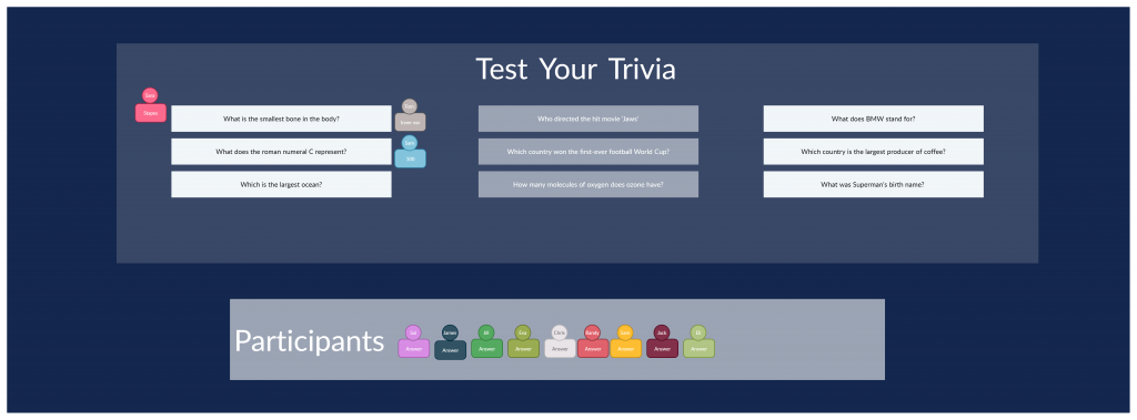 Test Your Trivia Template For Virtual Icebreakers