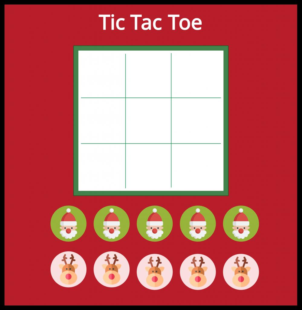 Christmas-Tic-Tac-Toe