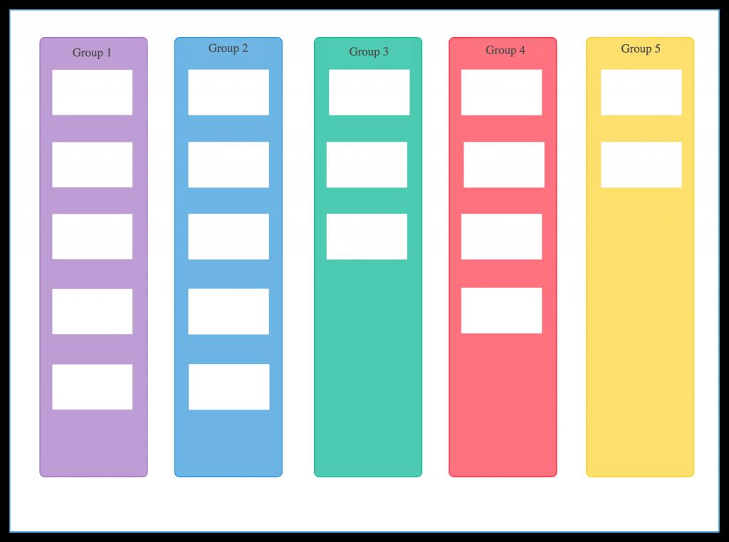 Affinity Diagram Visual Brainstorming Techniques