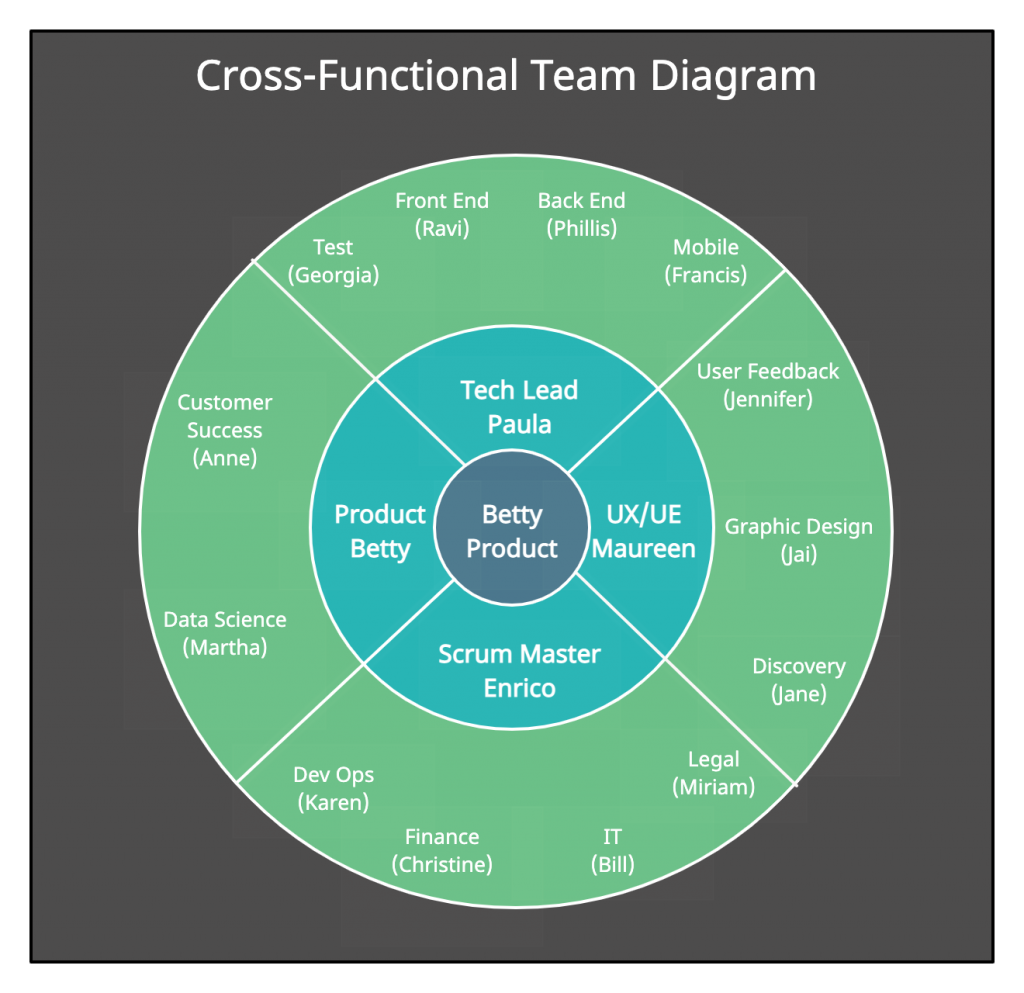 Cross Functional Team Diagram