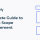 What is Project Scope Management | Complete Guide with Steps, Templates, and Tips